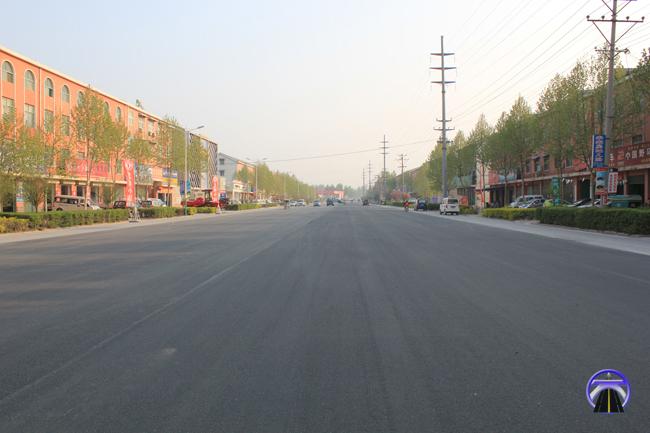 新乡市封丘县工业路改建工程