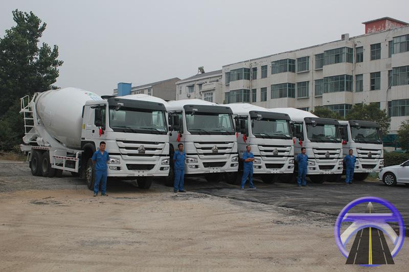 水泥混凝土运输车队